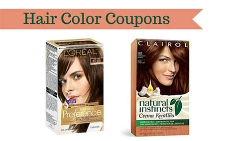 loreal hair color coupon hair color coupons save on clairol and l oreal hair