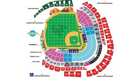 cubs stadium seating chart marlins stadium seating chart chicago cubs at miami