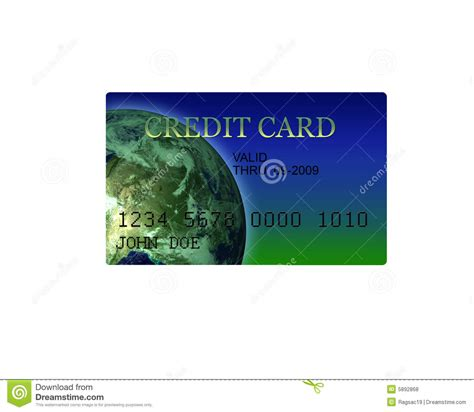 Generic Credit Card Image generic credit card illustration 3d royalty free stock