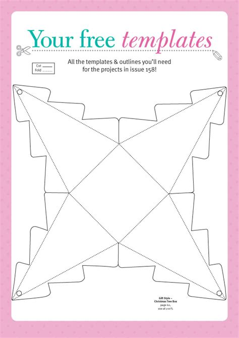 Papercraft Inspiration - free templates from papercraft inspirations 158 to