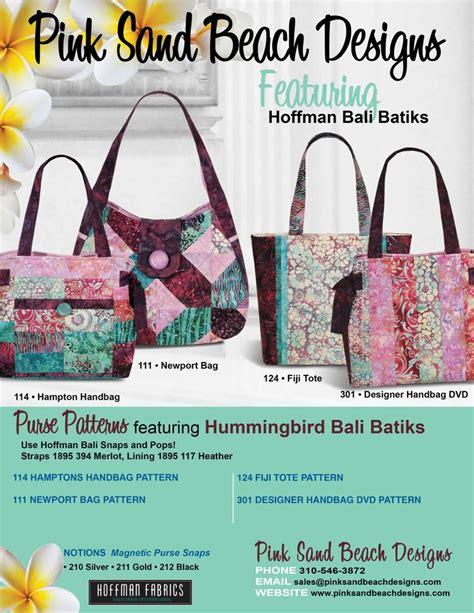 Bonita Pink Batik 17 best images about quilting bags fiji tote pink sand on sewing patterns