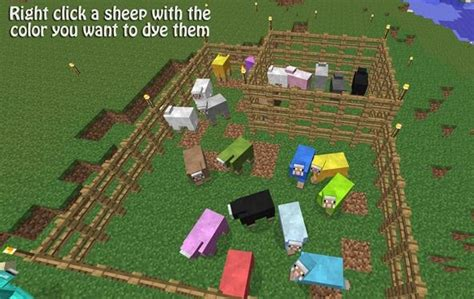 minecraft dye colors how to build a wool dye workshop to create wool of any