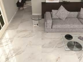 high gloss white grey floor tiles living room tiles