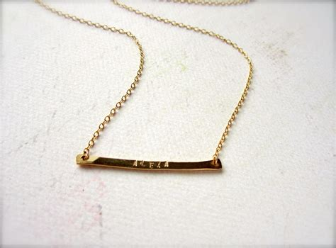 custom tiny name necklace name necklace gold name by
