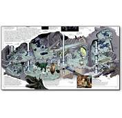 Batman Batcave Blueprints Comic Book Had A
