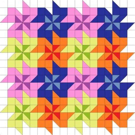 flower pattern block template tessellating flower quilt block pattern quilts please