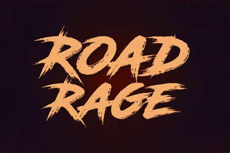 road rage font befontscom