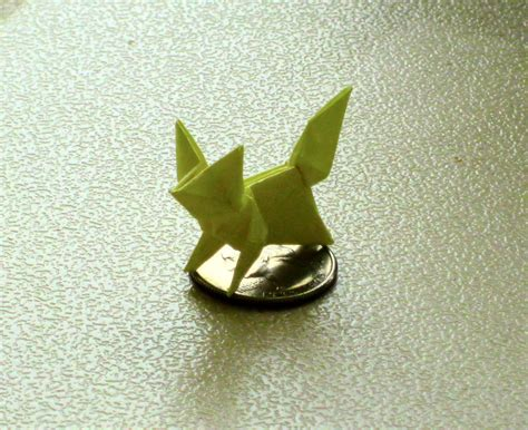 Origami Fox - origami fox by saberfiretiger on deviantart