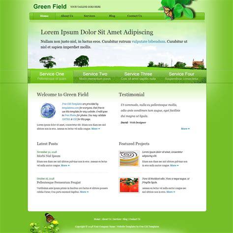 template 310 green field