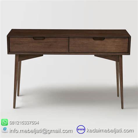 Meja Tulis Retro Jati Jepara beli meja konsul vintage design minimalis kayu jati jepara