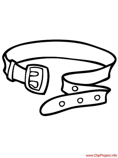 Belt Coloring Pages belt image to color