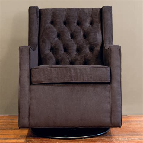 black glider and ottoman tufted glider and ottoman black