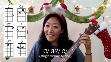 mele kalikimaka easy ukulele holiday play   chords  lyrics christmas ukulele