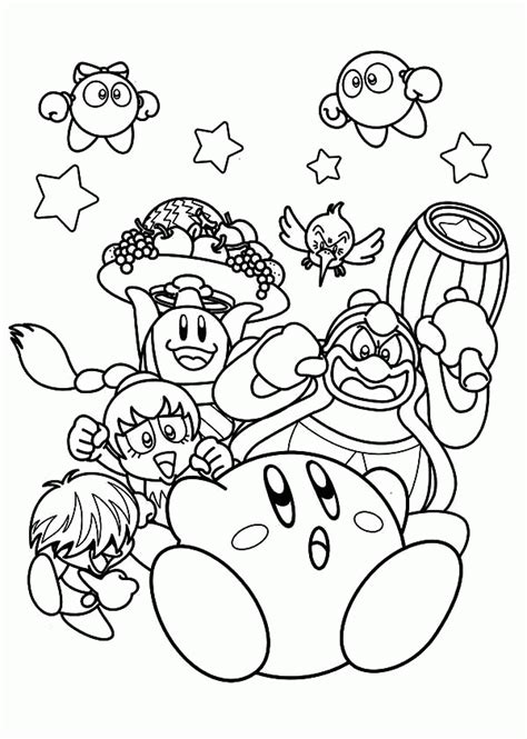 kirby yarn coloring pages hammer kirby by drchrisman sword kirby coloring pages