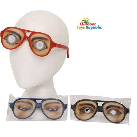 emotion glasses joke costume accessory big eye
