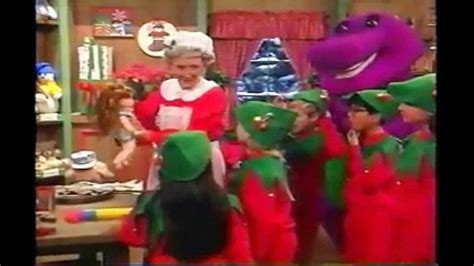 barney the backyard show part 3 barney the backyard gang waiting for santa part 3 video dailymotion awesome