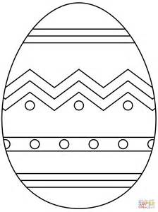 abstract easter coloring pages easter egg with abstract pattern super coloring