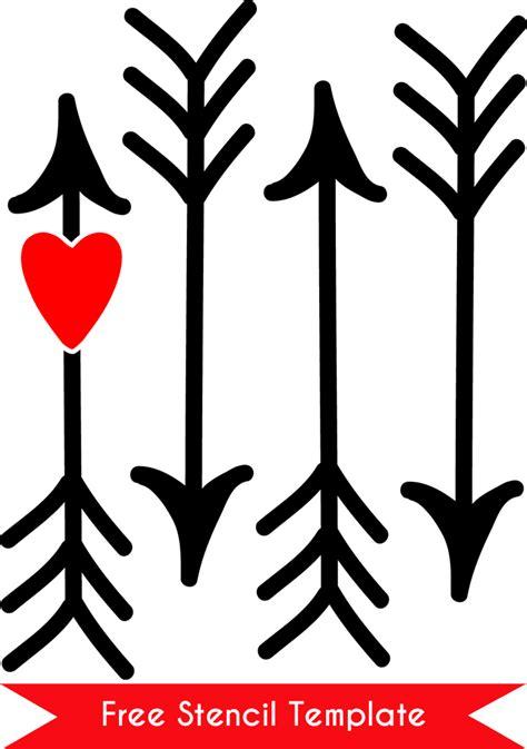 Free Arrow Stencil Template Arrow Stencil Template