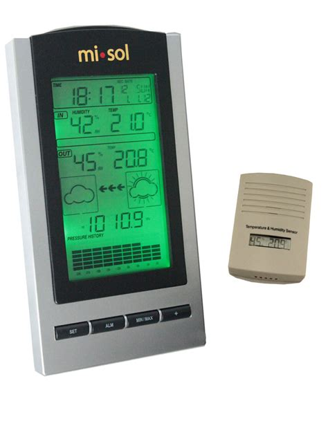 wireless weather station wireless thermometer with