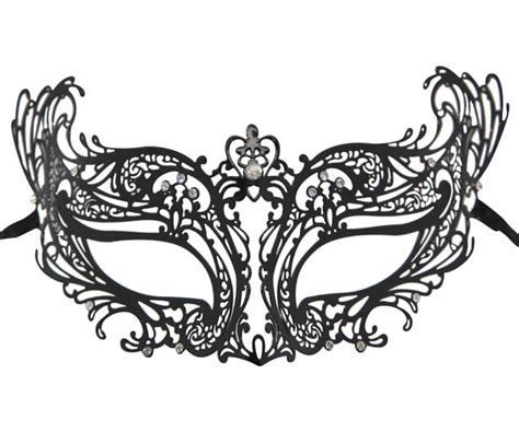 Topeng Mask Lace Misterius metal filigree masquerade mask