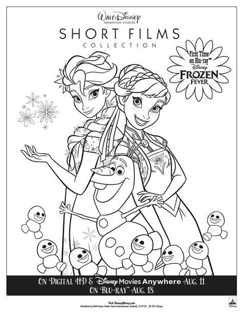 coloring pages frozen fever frozen fever colouring pages to print free coloring pages