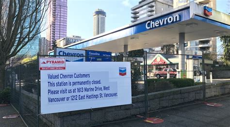 Gas Station Giveaway Dishes - west georgia chevron gas station sold for 72 million daily hive vancouver