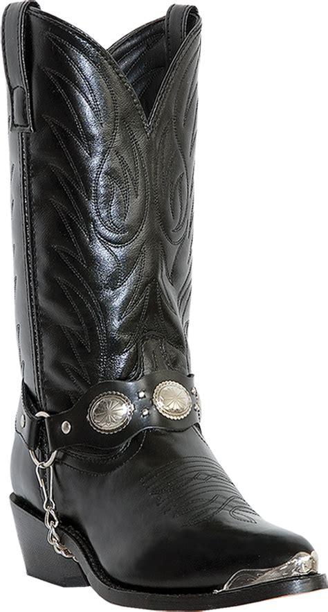 Hell Boot Coboy Black laredo s 6770 tallahassee 12 quot cowboy boot black