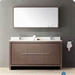 modern bathroom vanities with tops fresca allier 60 modern bathroom vanity set with