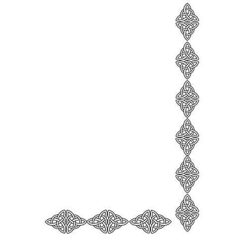 free celtic border clipart unique designs to download