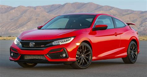 honda si 2020 2020 honda civic si coupe and sedan debut in the us