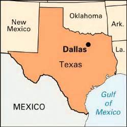 dallas on map dallas location encyclopedia children s