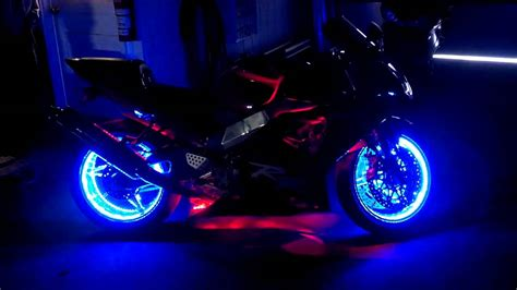 motorcycle led lighting kit multi bright leds