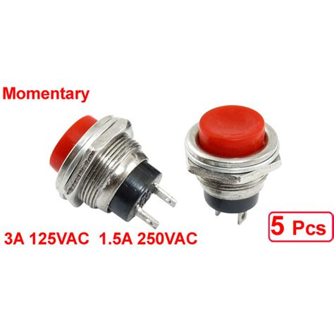 5 pcs spdt momentary push button switch 3a 125n 1 5a 250vac f2g2 163 1 41 picclick uk