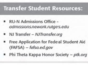 Rutgers Mba Transfer Credits by Transfer Student Applicants Admissions Rutgers