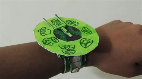 How To Make A Paper Ben 10 Omniverse Omnitrix - updated the ring interface ben 10 omniverse paper