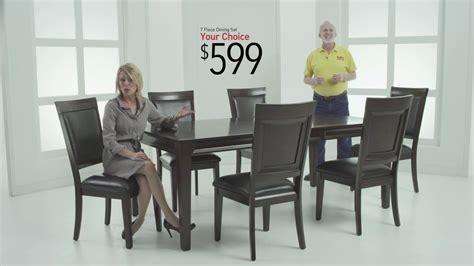 discount dining room sets dining rooms sets for 599 bob s discount furniture
