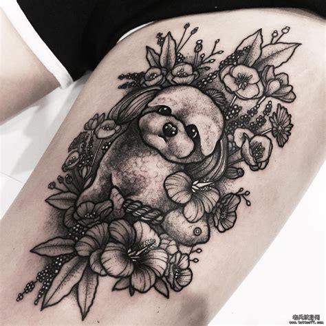 纹身图案大全 腿部纹身图案大全