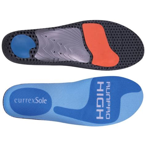 running shoe insoles for high arches currexsole runpro high arch insole currexsole