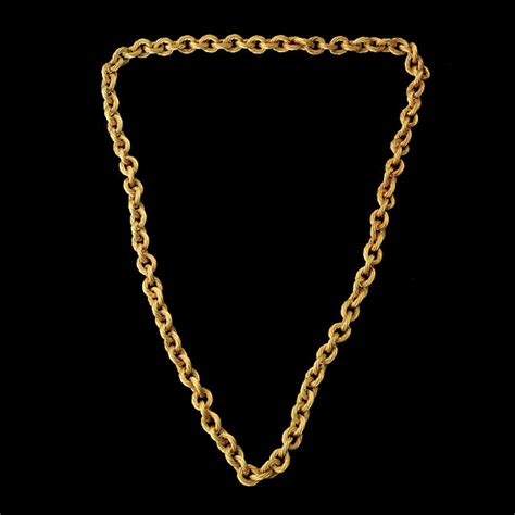 how to make neck chain with 18k yellow gold neck chain auction highlights