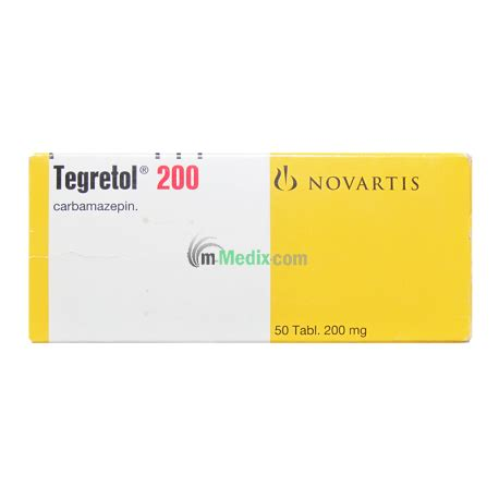 Tegretol Detox by Novartis Tegretol Carbamazepin 200mg 50 Tablets M