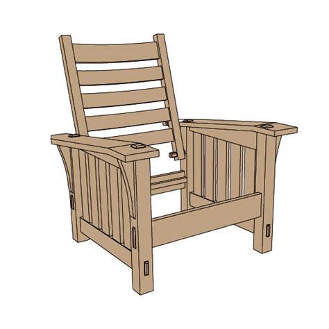 stickley morris chair plans stickley no 369 slant arm morris chair plans