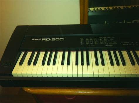 Keyboard Roland Rd 500 roland rd 500 image 203820 audiofanzine
