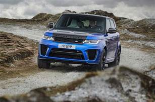2018 land rover range rover sport svr revealed with 575