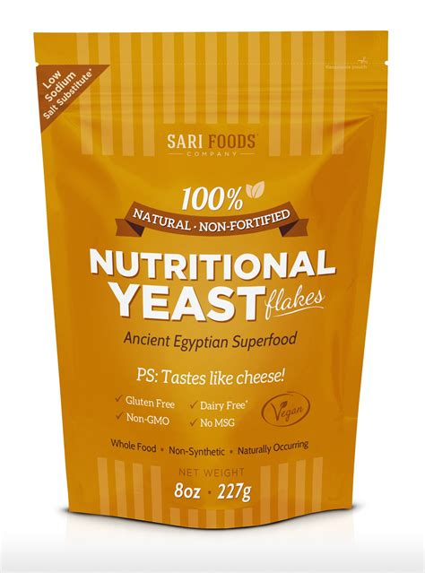 protein yeast non fortified nutritional yeast plant based protein