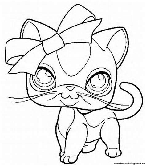 Coloring Pages Lps | my littlest pet shop coloring pages coloring home