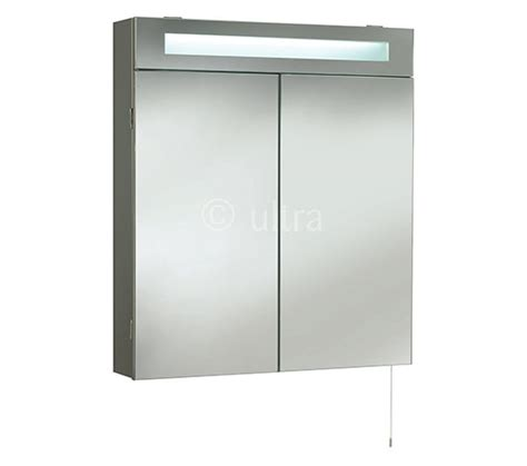 ultra bathroom cabinets ultra tuscon door mirrored cabinet with light 620 x