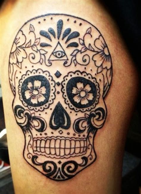 sugar skulls tattoos meaning mexican sugar skull graphic