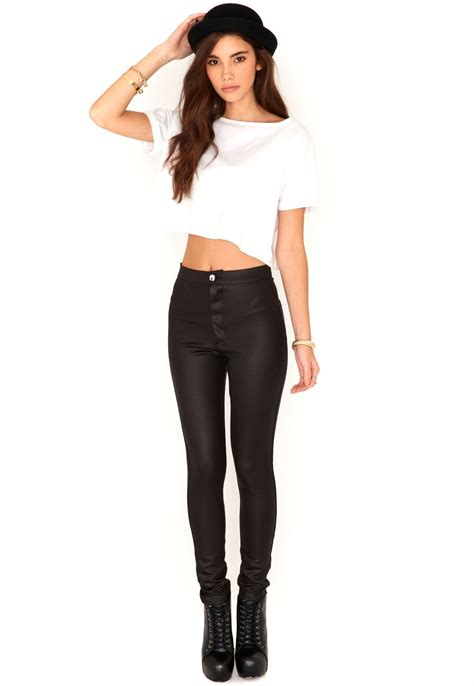 how to wear disco pants oh my style affordable fashion eugenie shiny disco pants in black these are actually