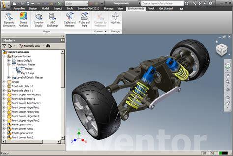 Auto Desk Inventor inventor 3d cad software for mechanical design