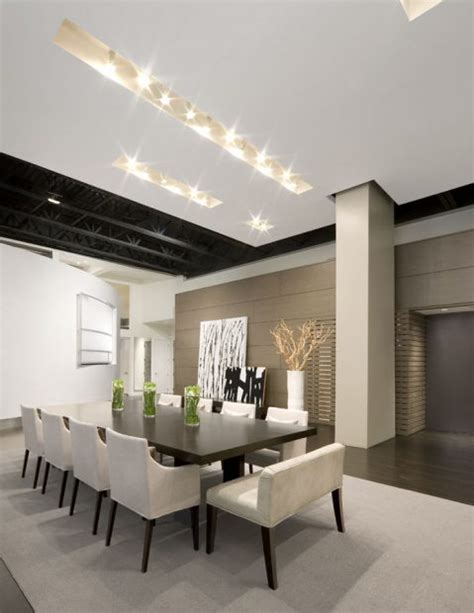 modern dining room ideas contemporary home design of boston loft house by ruhl